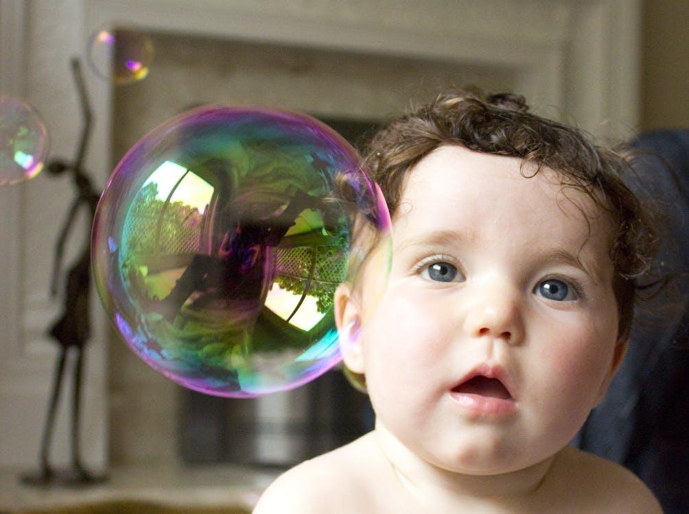 Baby Facing Bubble Indoor