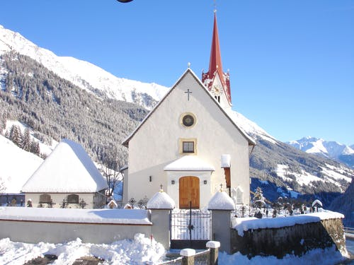 White Cathedral Near Alps
