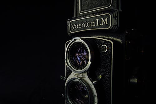 Vintage Photography Of A Camera