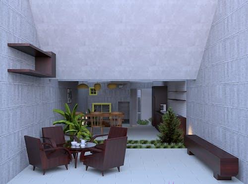 アパート, いす, インテリア・デザイン, インドアの無料の写真素材