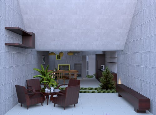 Základová fotografie zdarma na téma apartmán, architektonický návrh, architektura, design interiéru