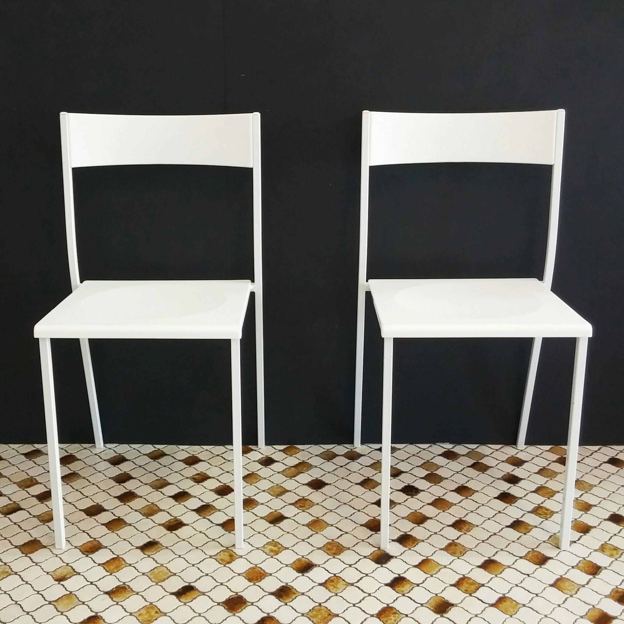 Free stock photo of white, chairs, interior, modern