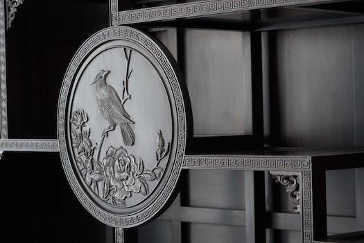 Free stock photo of furniture, carving, chongqing, silingtandiao