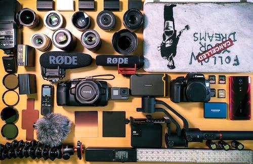 カメラ, ジンブル, ソニー, プロの無料の写真素材