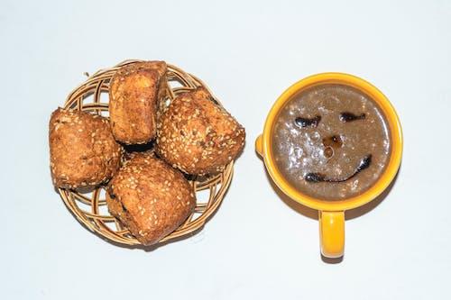 咖啡豆, 早餐, 杯子, 穀物 的 免费素材照片