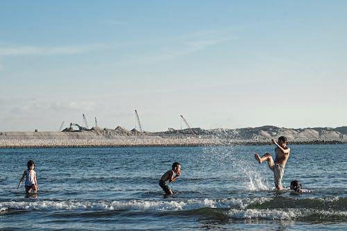 Foto d'estoc gratuïta de descans, estiu, feliç, platja