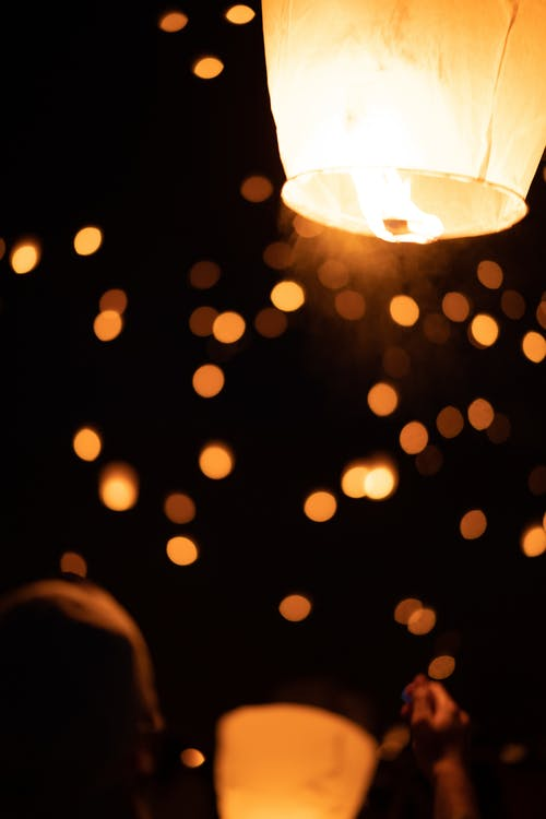 Free stock photo of fest, festival, fire, fire lantern