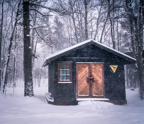 Free stock photo of cabin, canada, cold, cottage