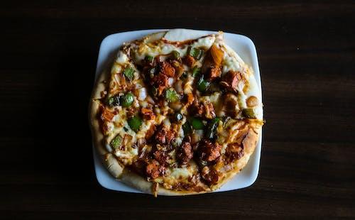 Δωρεάν στοκ φωτογραφιών με capsicum πίτσα, πιπεριά, πίτσα, πίτσα με τυρί