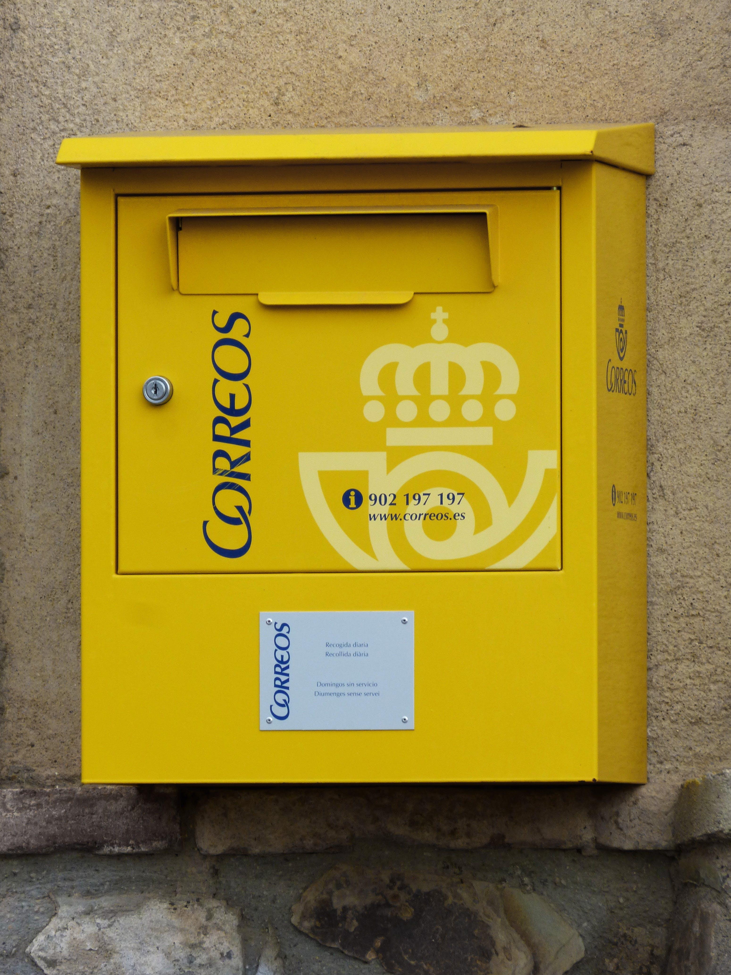 Free stock photo of mailbox, post, estafeta, postal service