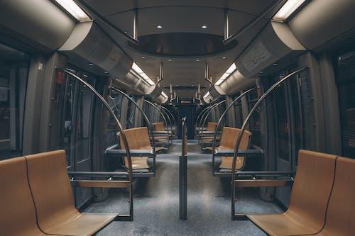 Foto stok gratis jerman, kereta bawah tanah, kosong, lokomotif