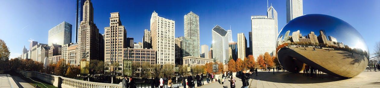 Arsitektur, bangunan, chicago
