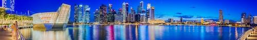 Fotobanka sbezplatnými fotkami na tému architektúra, centrum mesta, Marina Bay Sands, mesto