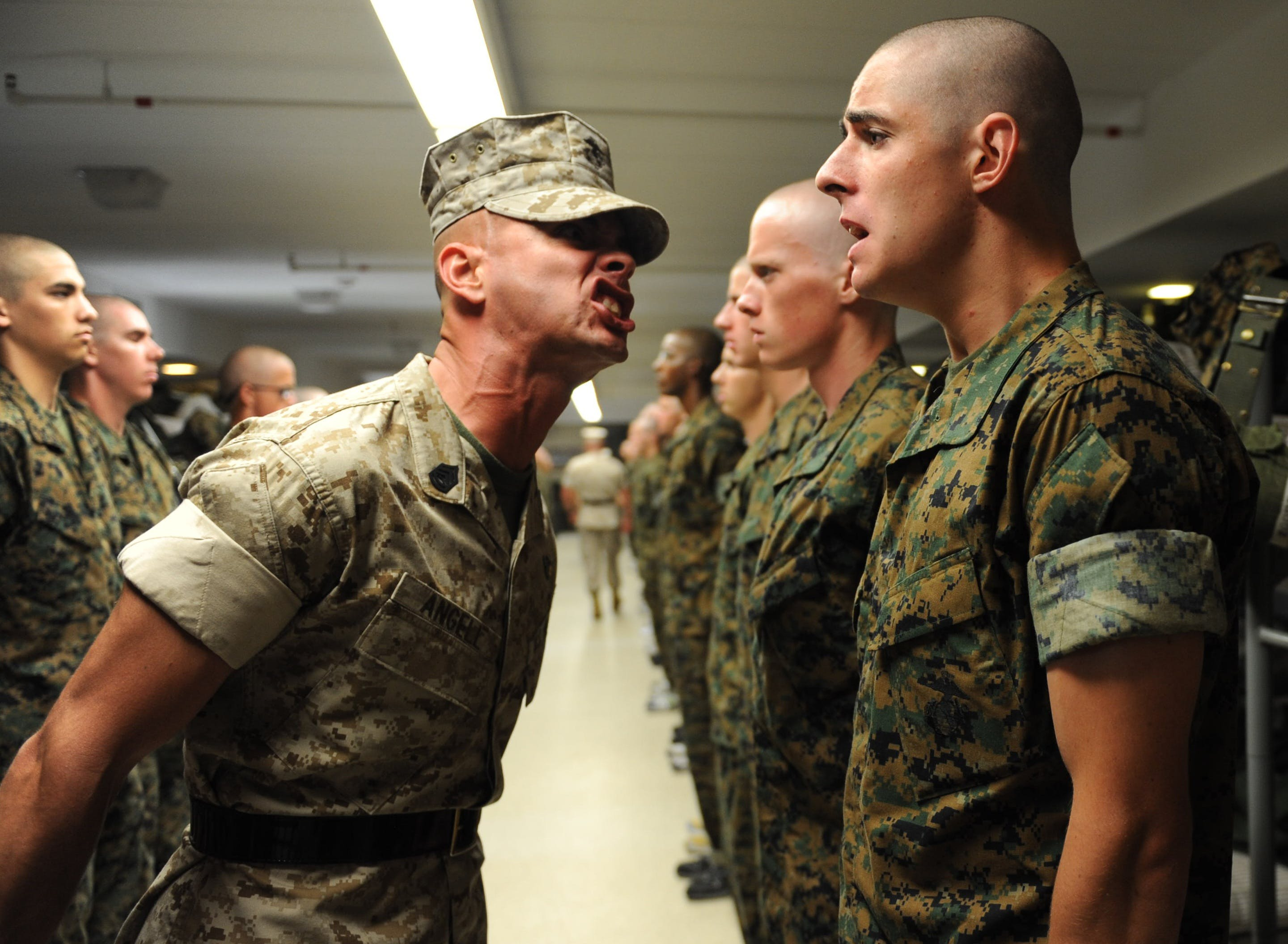 army, authority, drill instructor