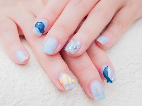 Free stock photo of fingernail