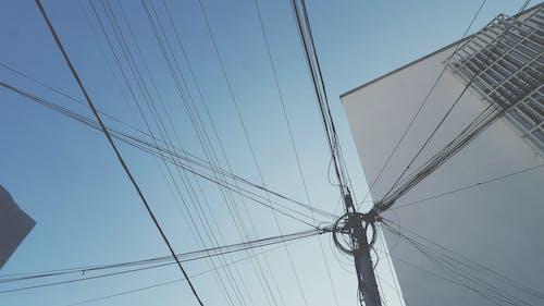 Imagine de stoc gratuită din albastru, antananarivo, cablu, cer albastru