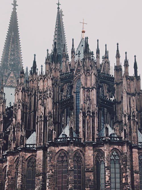 Cologne Cathedral Building Facade