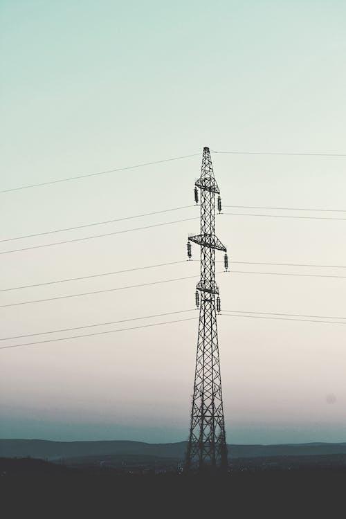 Foto d'estoc gratuïta de distribució, electricitat, línies elèctriques, poder