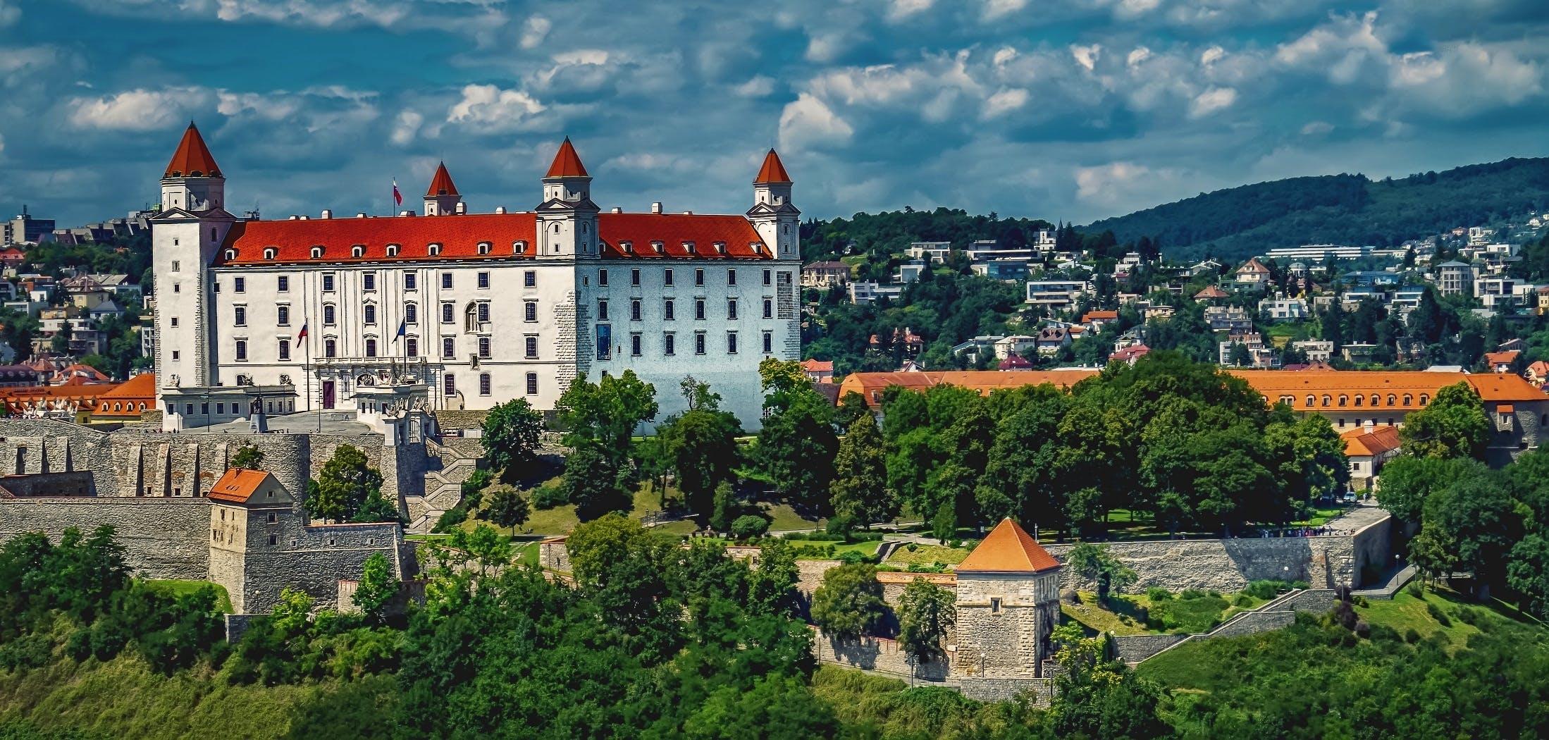 architecture, bratislava, bratislava castle
