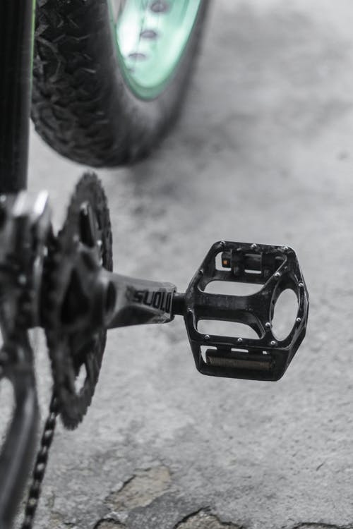 Close Up of Bike Pedal