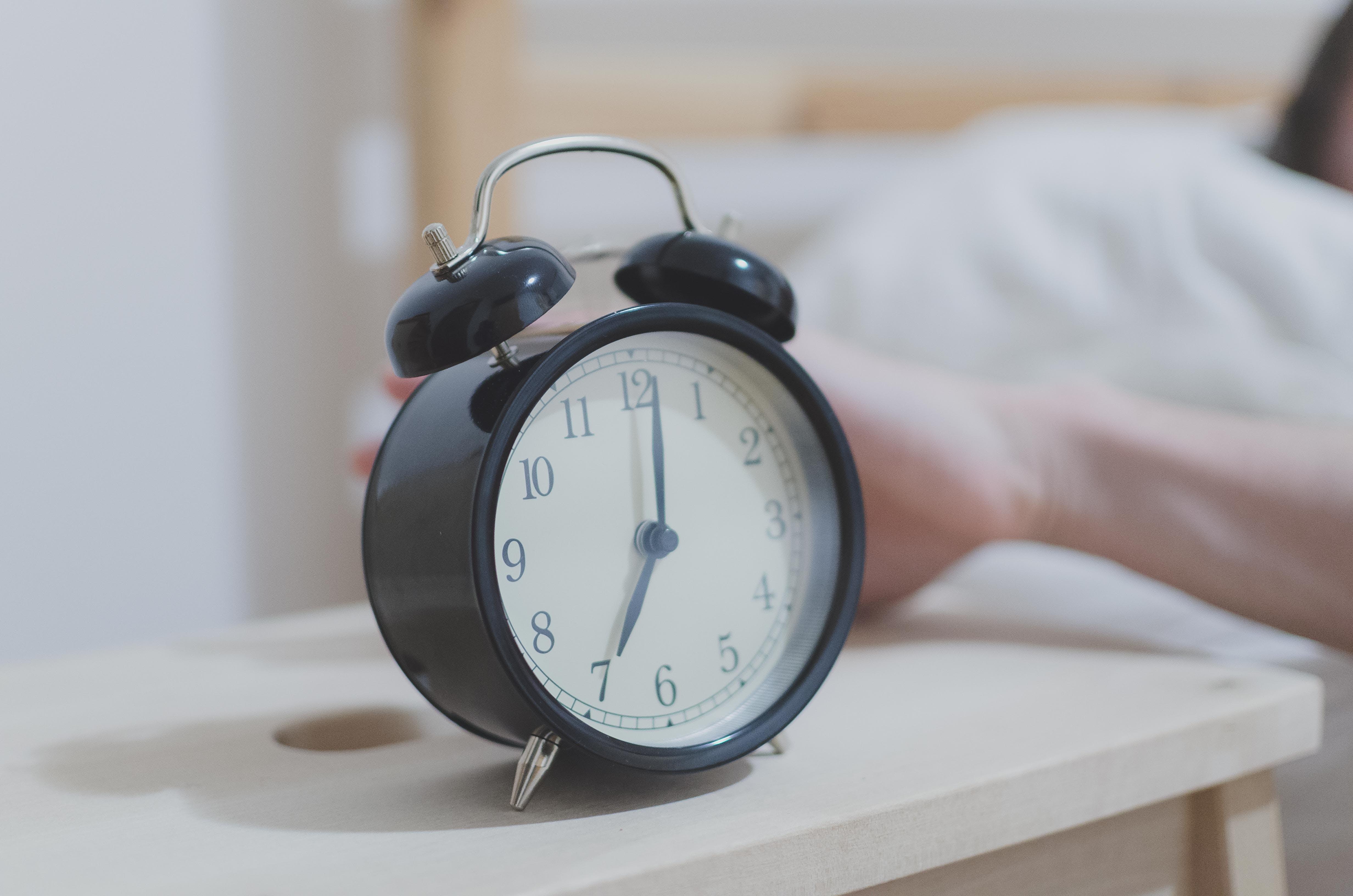alarm, analogon, aufwachen