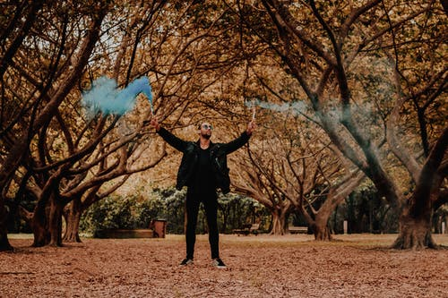 Immagine gratuita di abbigliamento casual, alberi, autunno, foglie autunnali
