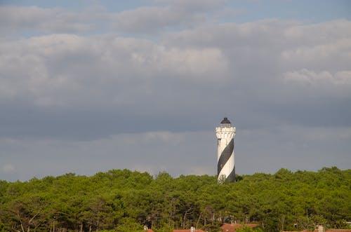 Gratis lagerfoto af fyrtårn, hav, mølle, rulle