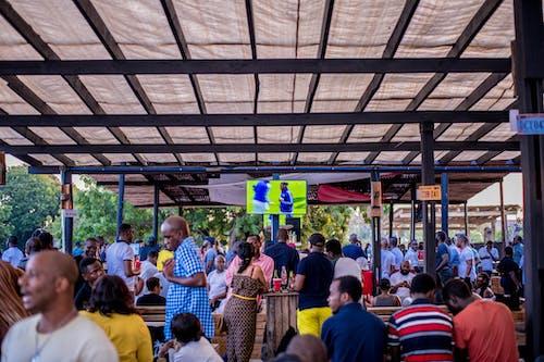 Kostenloses Stock Foto zu afrikaner, bar, chillen, football