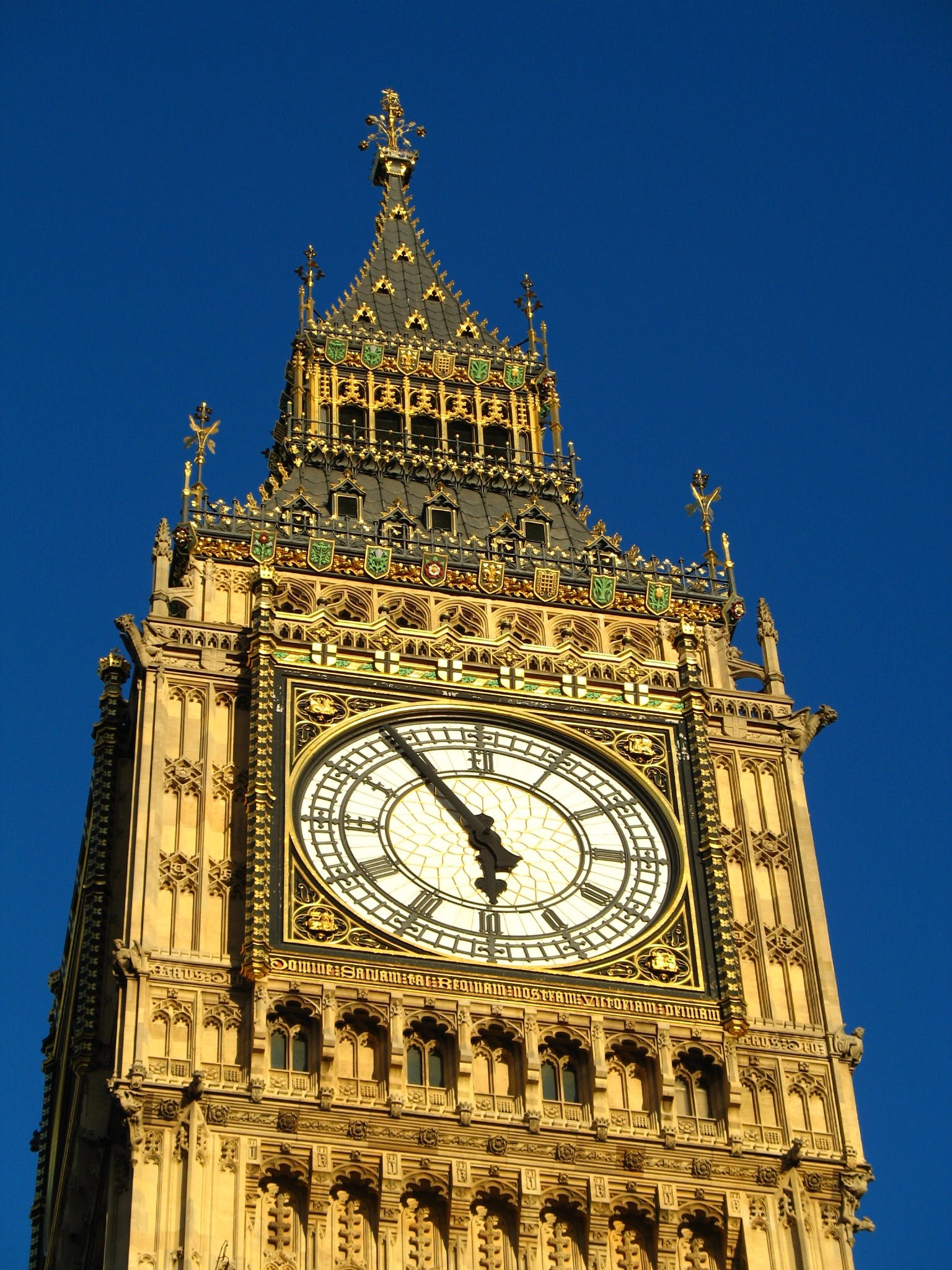 Free stock photo of clock, big ben, london, parliament