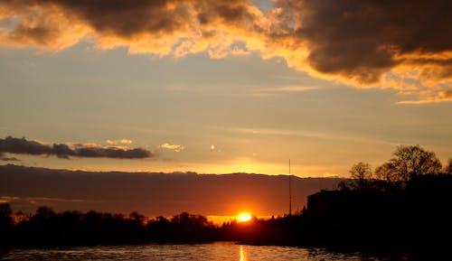 克拉科夫, 夕陽, 景觀, 波蘭 的 免費圖庫相片