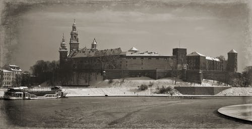 克拉科夫, 冬季, 古老的城堡, 波蘭 的 免費圖庫相片
