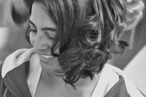 Immagine gratuita di #bridal #hairdo #bw