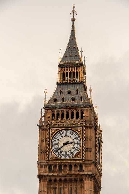 Low-angle Photography of Big Ben in London