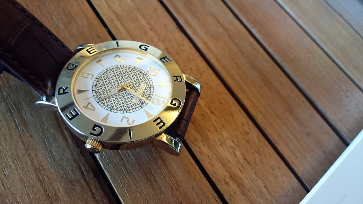 armbandsur, klassisk, tid
