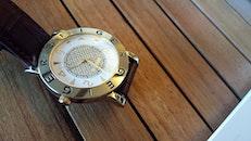 wood, wristwatch, time