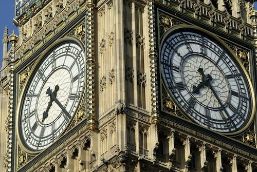 低角度拍攝, 倫敦大笨鐘, 受歡迎的, 古老的 的 免费素材照片
