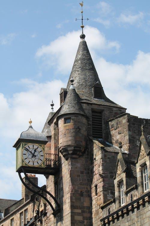 Kostnadsfri bild av arkitektur, byggnad, slott, sten