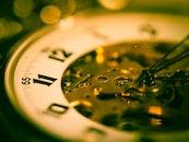 glass, blur, time