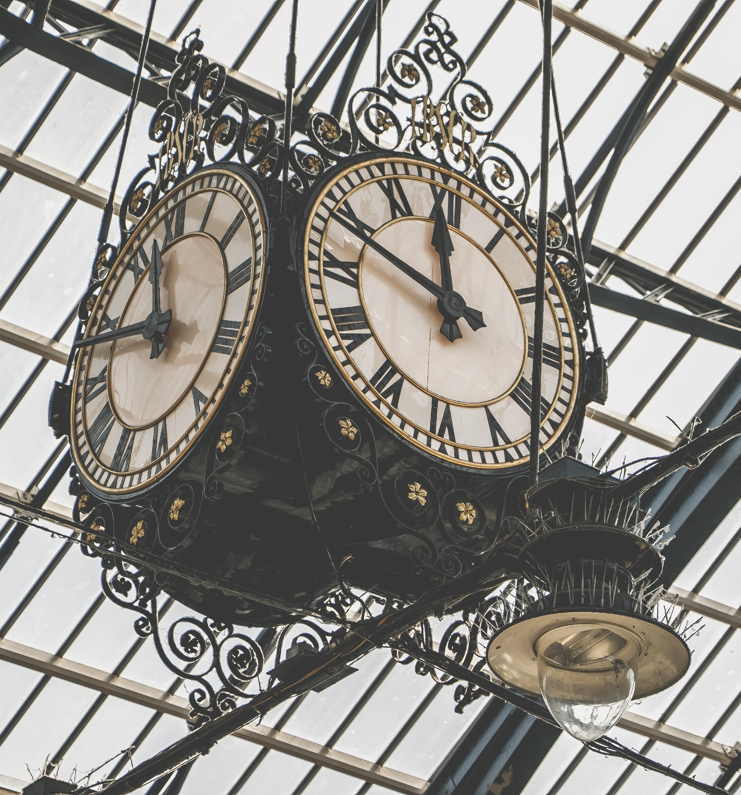 Free stock photo of vintage, time, clock, retro