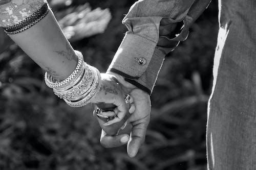 Immagine gratuita di #marriage #couple #blackandwhite #bw