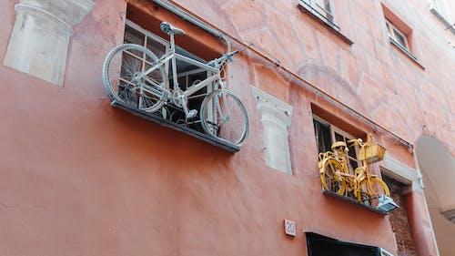 Základová fotografie zdarma na téma architektura, budova, Itálie, jízdní kolo