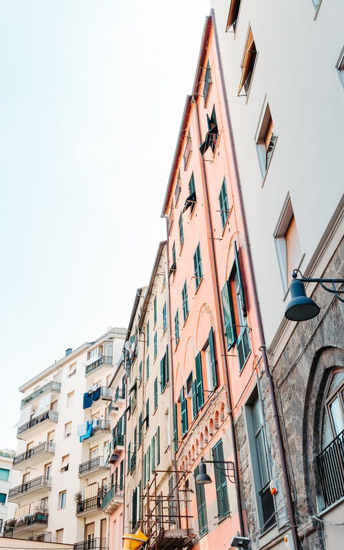 Základová fotografie zdarma na téma architektura, budova, Itálie, okna