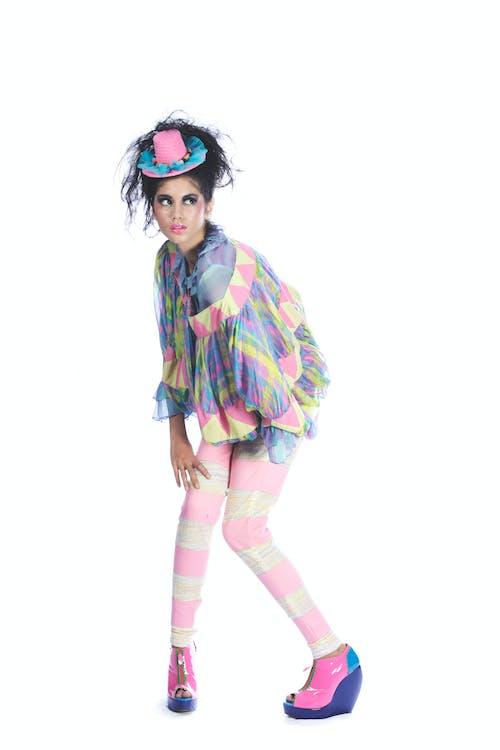 Бесплатное стоковое фото с манекенщица, модная фотография, съемки моды