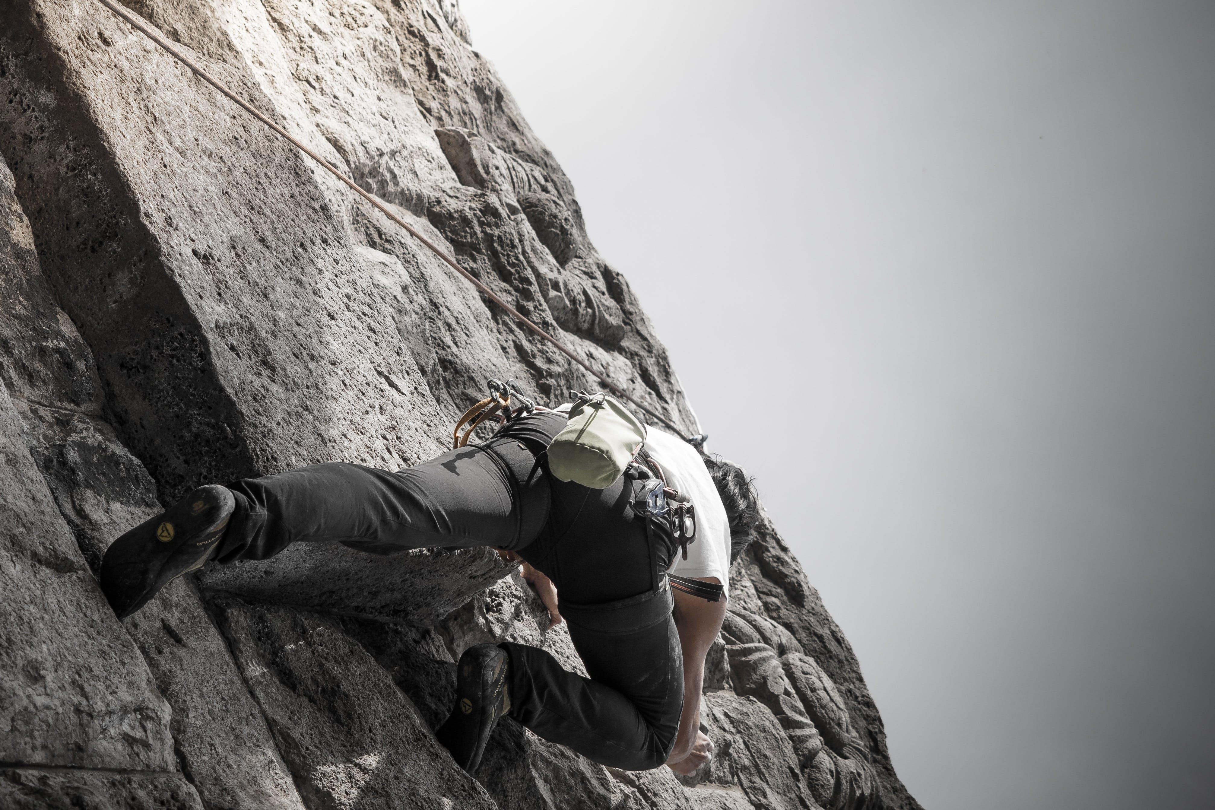 adventure, cliff, extreme