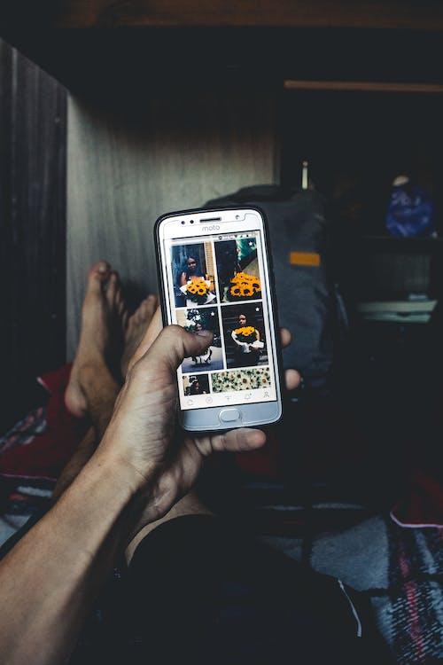Foto d'estoc gratuïta de alimentar, cel·lular, pexels, pexels brasil