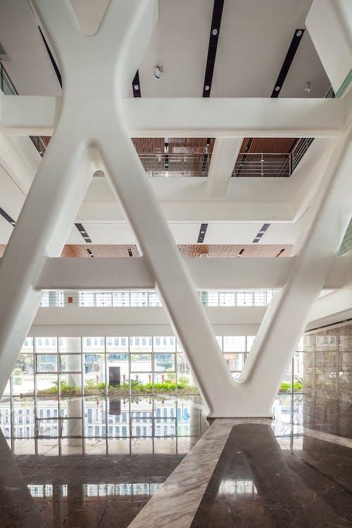 Foto d'estoc gratuïta de arquitectura, auditori, edifici, entrada