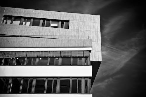 Darmowe zdjęcie z galerii z architektura, budowa, budynek, czarno-biały