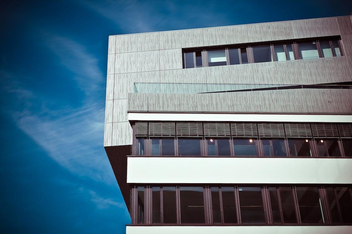 オフィスビル, ガラス, コンテンポラリー