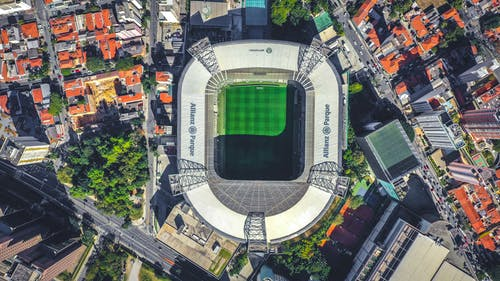 Aerial View of Stadium
