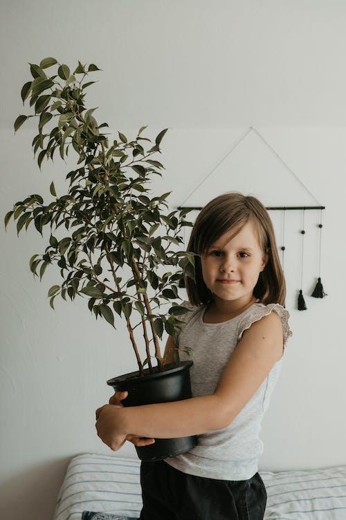 Darmowe zdjęcie z galerii z dziecko, dziewczyna, garnek, ładny